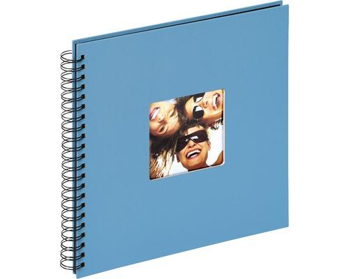 Album à spirale Fun bleu océan 30x30 cm