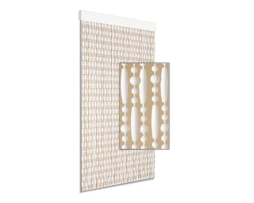 Rideau de porte Cyprus blanc 90x210 cm