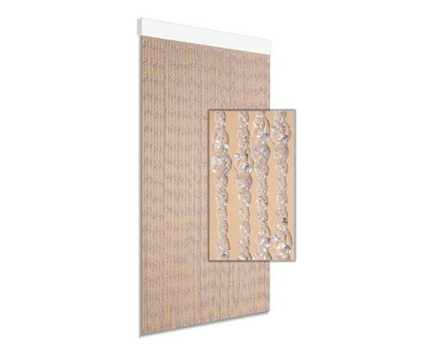 Rideau de porte Ember transparent 90x210 cm