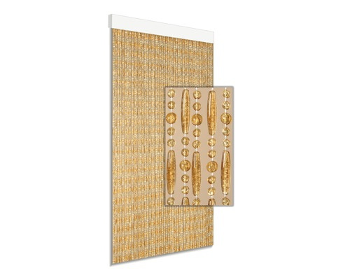 Rideau de porte Cyprus beige 90x210 cm