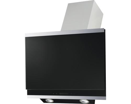 Hotte inclinée PICCANTE BARI 60 cm noire