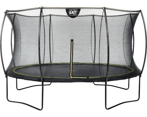 Trampoline EXIT Silhouette avec filet de sécurité Ø 366 cm noir