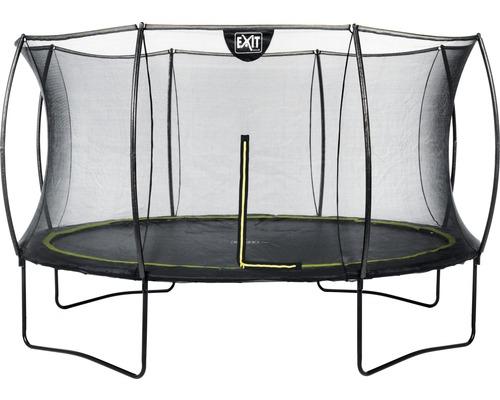 Trampoline EXIT Silhouette avec filet de sécurité Ø 427 cm noir