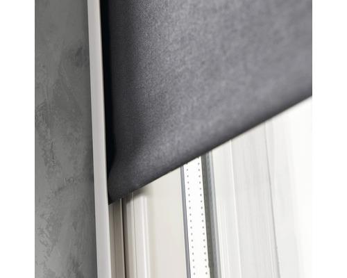 Profilé latéral blanc pour stores Soluna longueur 190cm pack de 2