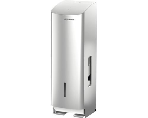 Distributeur de papier toilette AIR-WOLF Gamma II acier inoxydable