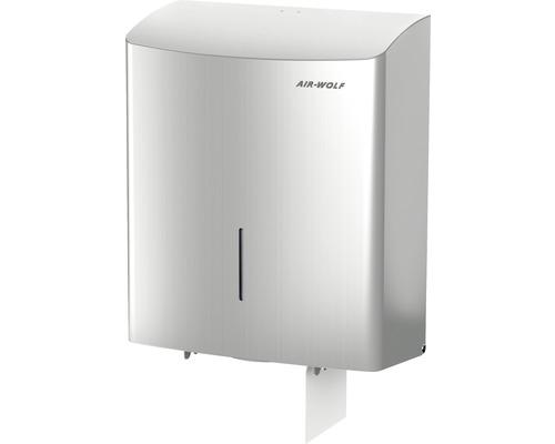 Distributeur de rouleaux Duplex AIR-WOLF Gamma II argenté