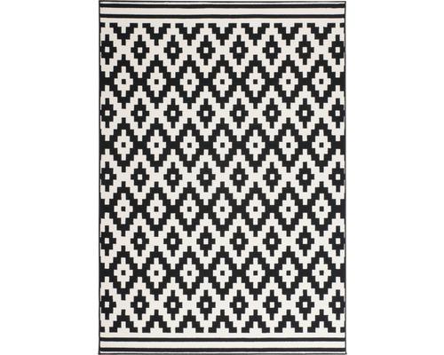 Tapis Novella 350 noir-blanc 80x150 cm