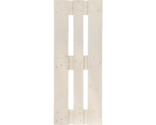 Demi palette de projet 120x40x15 cm blanc