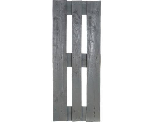 Demi palette de projet 120x40x15 cm gris
