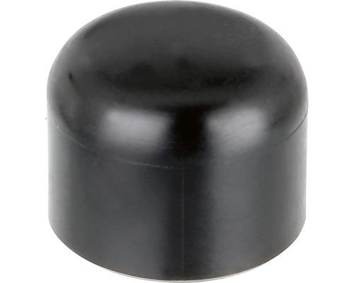 Couvre poteau pour poteau métallique rond 34mm, noir