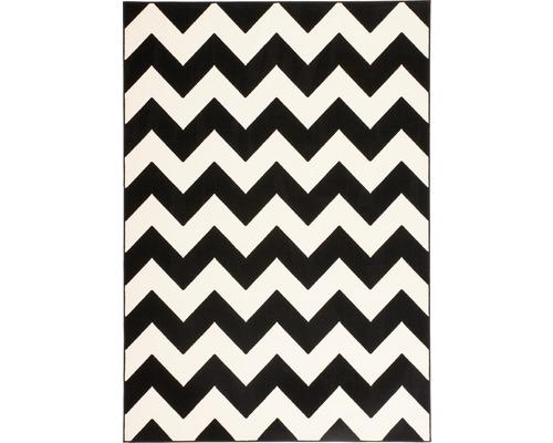 Tapis Artless 2135 noir 80x150 cm