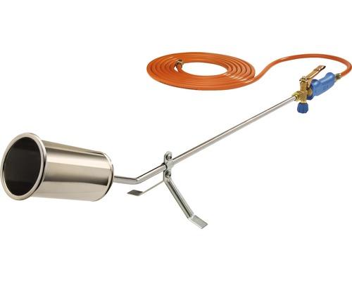 Brûleur anti mauvaises herbes CFH gaz PM F10 y compris tuyau de gaz propane