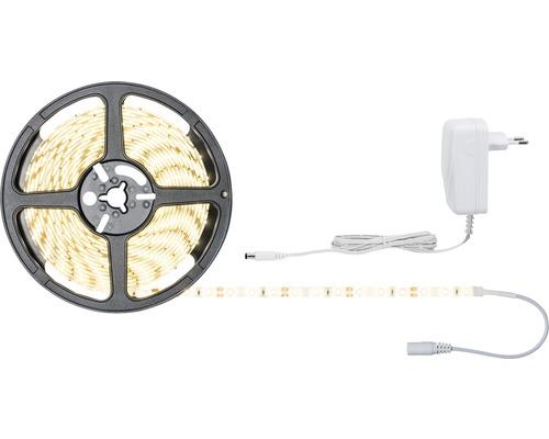 Kit de bande prêt à l''emploi SimpLED 5,0 m 960 lm 3000 K blanc chaud 300 LED revêtu 12V
