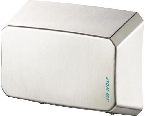 Sèche-mains AIR-WOLF série B 21,6 cm de haut, argenté