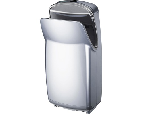 Sèche-mains AIR-WOLF Serie V 67.3 cm haut argent
