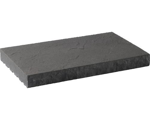 Dessus de muret plat structure anthracite 49 x 30 x 5 cm-0