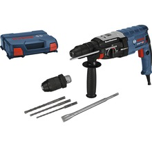 Bohrhammer mit SDS plus Bosch Professional GBH 2-28 F inkl. Flachmeißel, 3-tlg. Bohrer-Set SDS plus-5 (6/8/10 mm) und L-Case-thumb-0