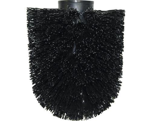 Tête de brosse de rechange Ø80mm noir