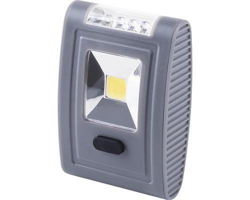 Lampe torche LED gris