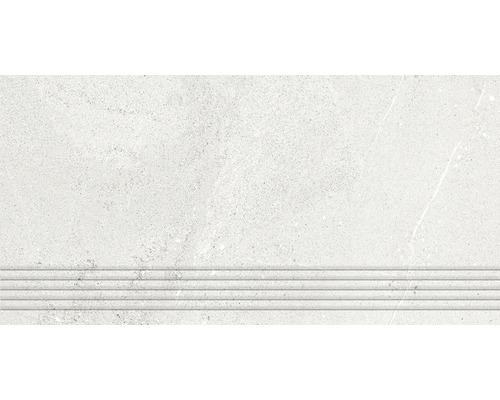 Marche d''escalier Area white 30x60cm
