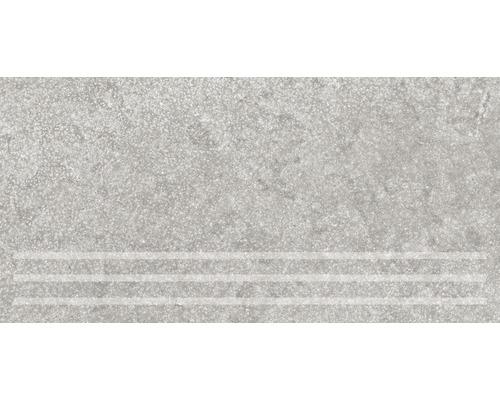 Marche d''escalier Traccia grigio 30x61cm