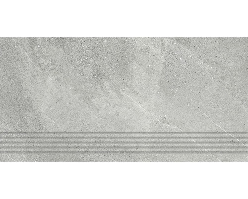 Marche d''escalier Area grey 30x60cm