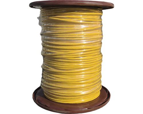 Câble de données Cat 7 1000MHz 4x2AWG23 bobine professionnelle 500m jaune