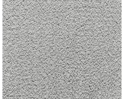 Moquette velours frisé Silkysoft caillou 400cm de largeur (au mètre)