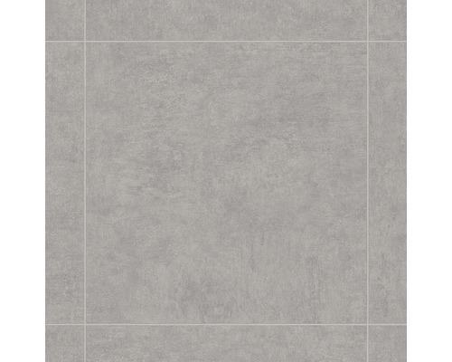 Pvc arlon aspect carrelage gris clair largeur 400 cm for Carrelage hornbach
