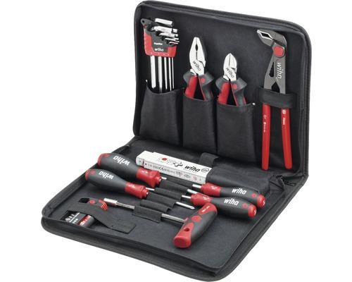 Kit de tournevis Wiha pour mécanicien, trousse à outils 31pcs