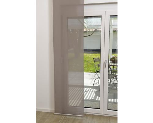 Schiebegardine Basic grey 60x300 cm
