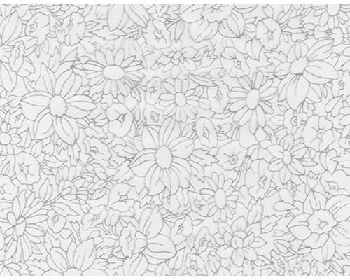 Film d''impression à l''eau fleurs CD-14-2 100 x 50 cm