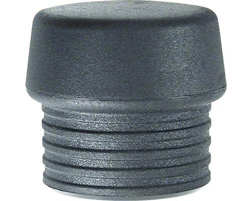Tête de frappe Wiha mi-souple noire pour marteaux non-destructifs Safety taille 30