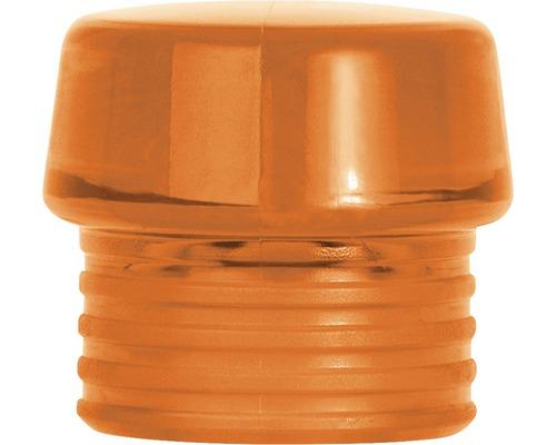 Tête de frappe Wiha dure orange pour marteaux non-destructifs Safety taille 30