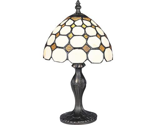 Lampe de table Tiffany Marvel multicolore 1 ampoule H 360 mm