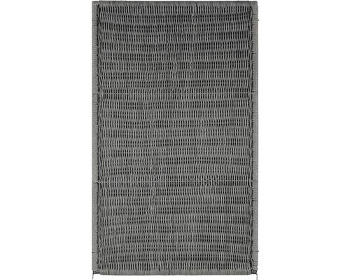 Élément de clôture Öland 150x90cm, gris pierre