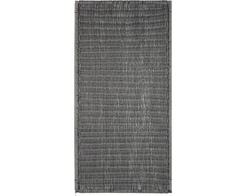 Élément de clôture Öland 180x90cm, gris pierre