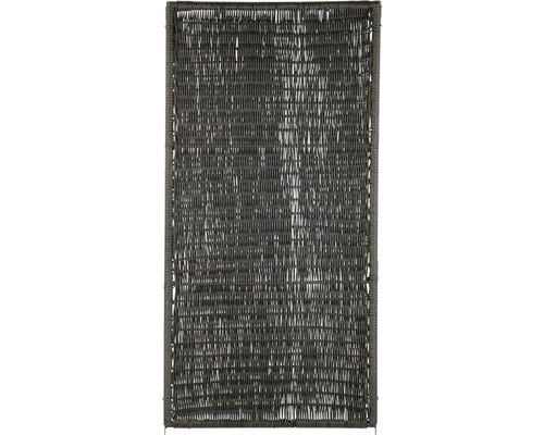 Élément de clôture Öland 180x90cm, marron