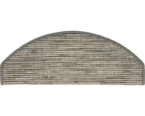 Marchette d''escalier Sylt gris 28x65cm