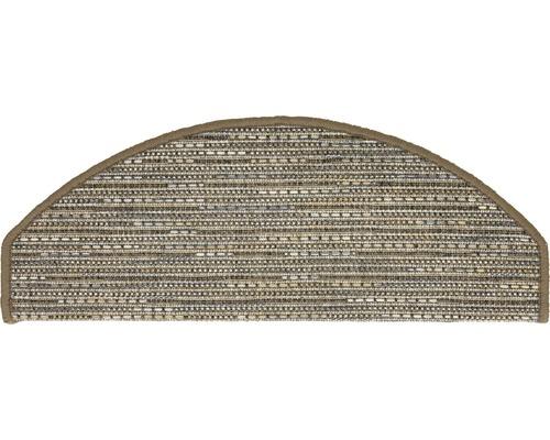 Marchette d''escalier Sylt taupe 28x65cm