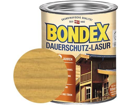 Lasure de protection permanente BONDEX chêne clair 750 ml