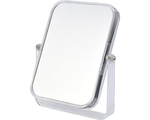 Kosmetikspiegel stehend faltbar 3-fache Vergrößerung Rahmen Transparent