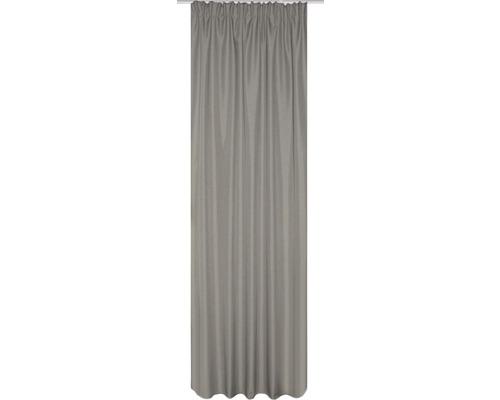 Rideau thermique avec galon fronceur nature 135x245 cm