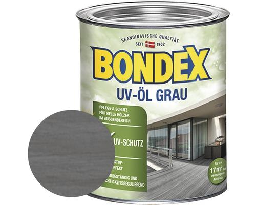 Huile pour bois UV BONDEX gris 0,75l