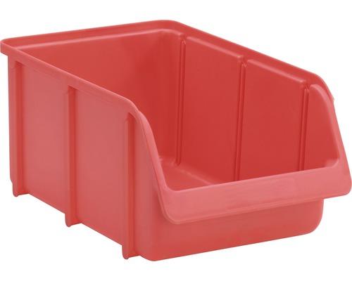 Boîte ouverte T.4 rouge