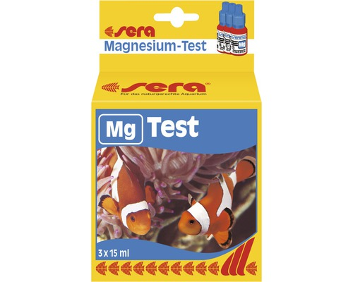 Wassertester sera Magnesium-Test 3 x 15 ml