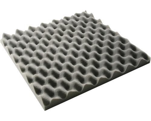Plaque de mousse ondulée Akupur 50x50x5cm