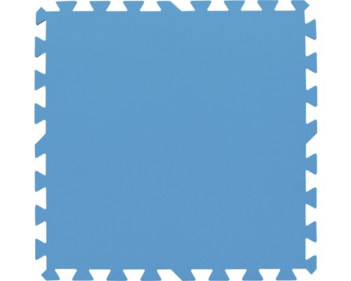 Dalles de sol pour piscine Flowclear 50x50cm bleu