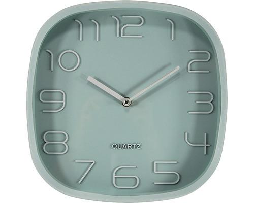 Horloge murale Sylt vert 30x30 cm