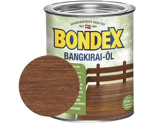 Huile pour bois de bangkirai BONDEX 750 ml